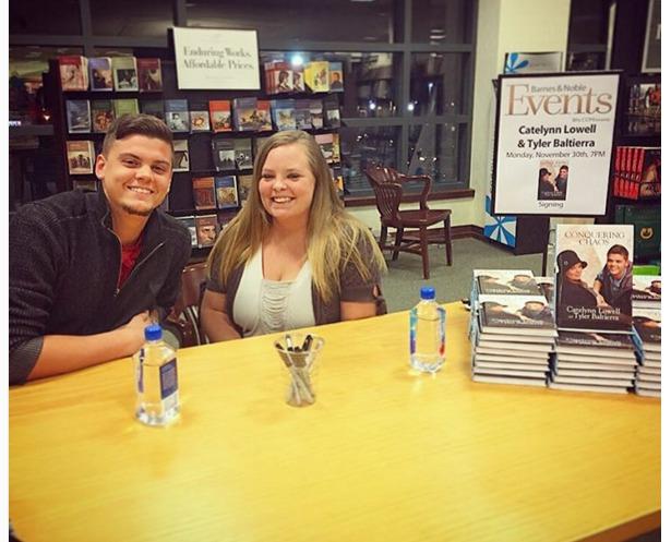 Tyler Baltierra Catelynn Lowell book signing