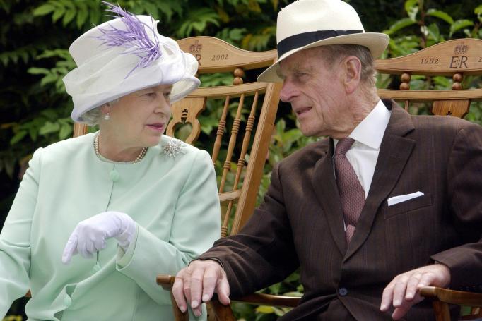 Queen Elizabeth II & Prince Philip in 2002