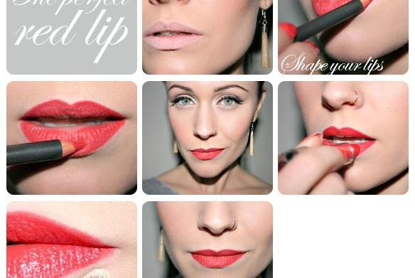 The perfect red lip: Tips from