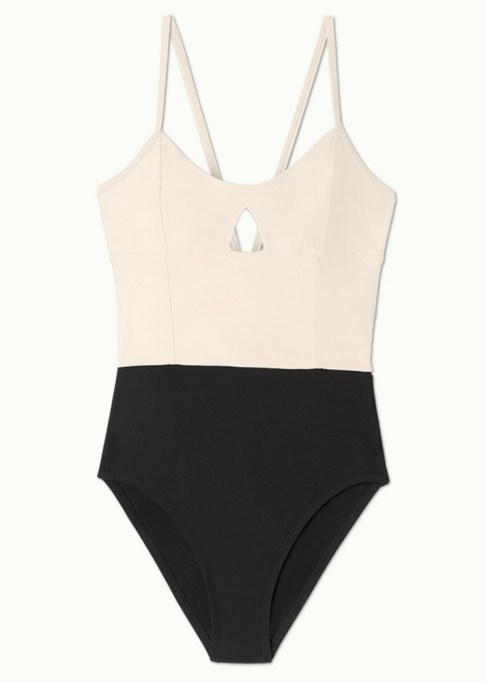The Most-Pinned Summer Fashion Trends of 2017: Summersalt Swim Swan-Dive One-Piece | Summer Fashion Trends