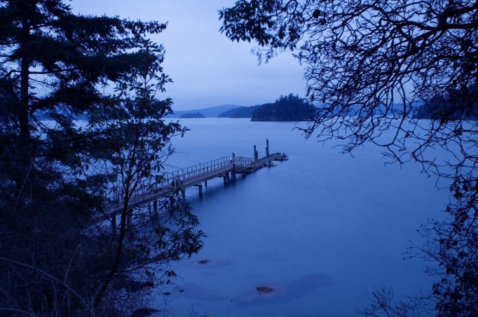 Photo of pier on Orcas Island, WA