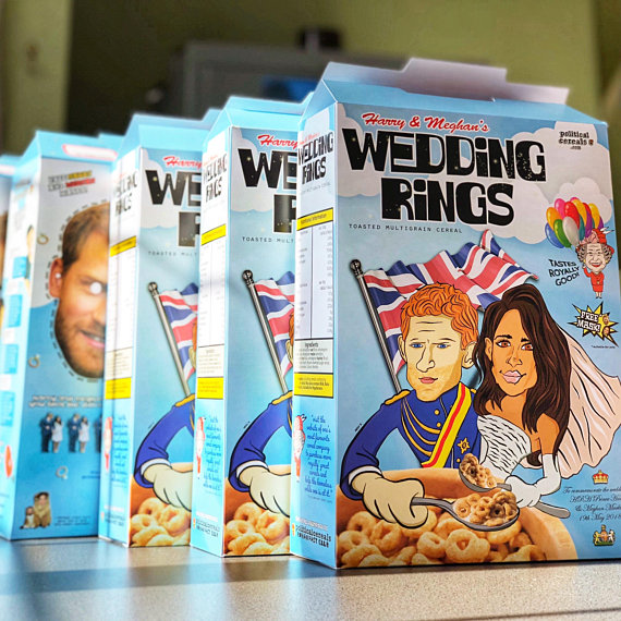 Prince Harry & Meghan Markle cereal
