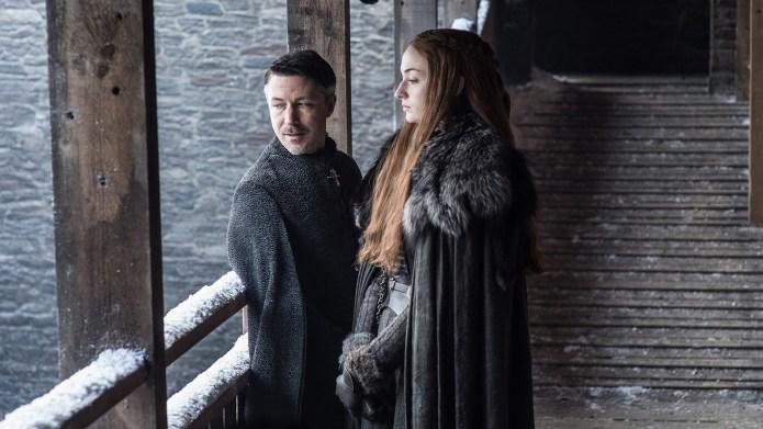 Sansa Looks Suspicious of Littlefinger in