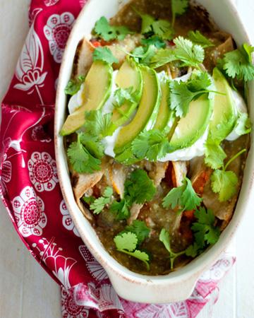 Black bean and sweet potato enchiladas recipe