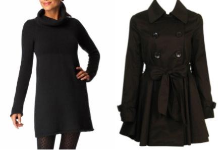 Turtleneck dress - Trench coat