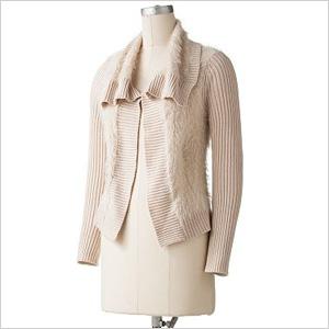 Apt 9 Sweater Jacket