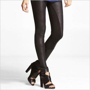 Trend: Textured leggings