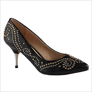 aldo stud heels
