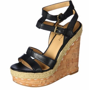 Black wedges from Nine West