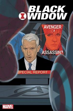 Black Widow #12 cover