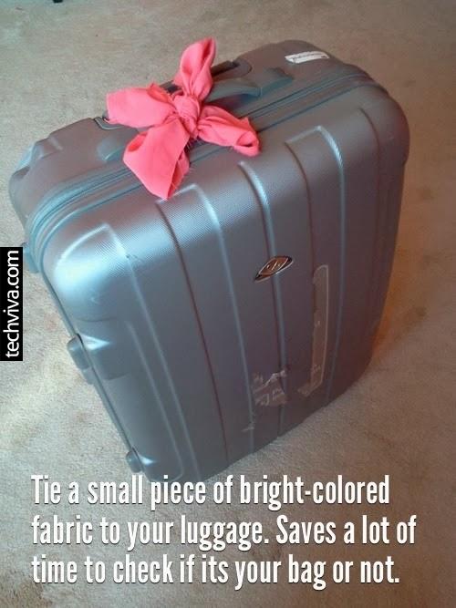 Suitcase ribbon