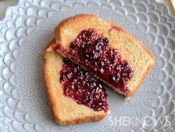 Blackberry lavender jam