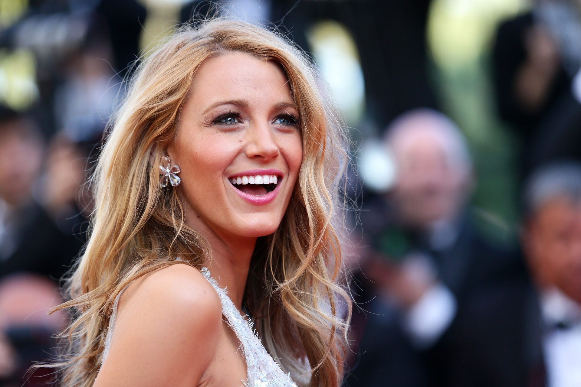 Blake Lively at Cannes Film Festival in 2014 wearing Chanel