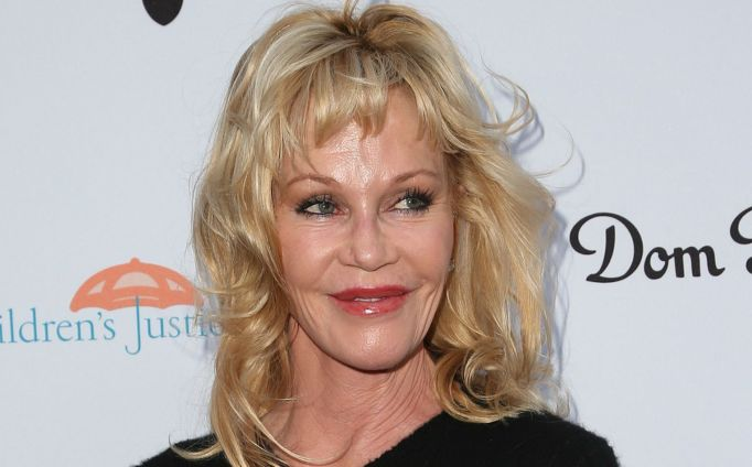 Melanie Griffith on red carpet