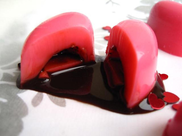 bleeding heart jello shots