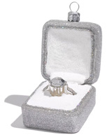 At home diamond ring ornament (Nordstrom, $24)