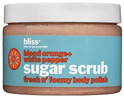 Bliss Blood Orange + White Pepper Sugar Scrub