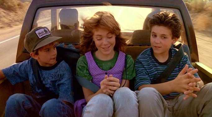 Fred Savage and Jenny Lewis in The Wizard