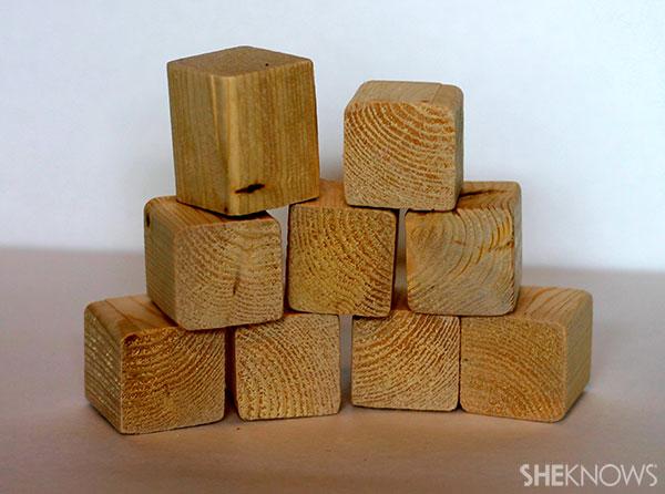 Wooden name blocks 3