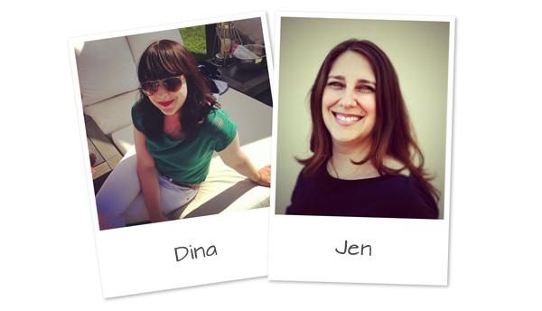 Dina and Jen