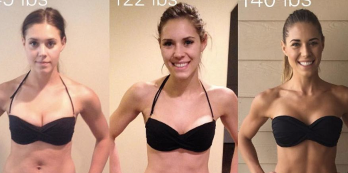 Fitness blogger proves that weight is