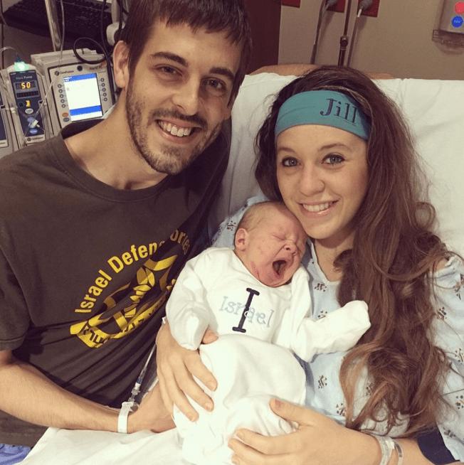 Derick Dillard and Jill Duggar's son's birth