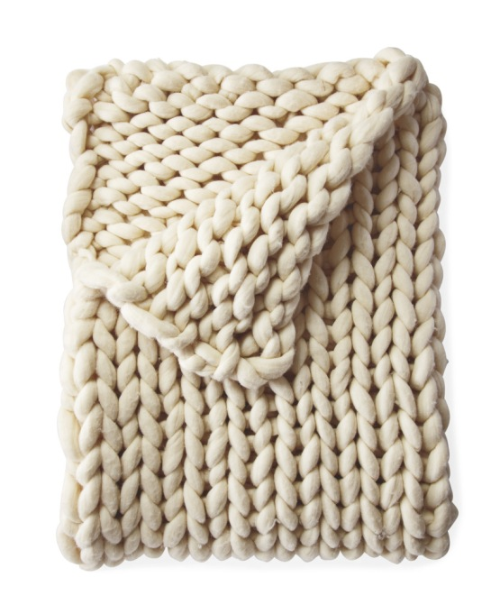 Luxe Throws For Your Bed or Sofa This Season | Henley Wool Throw