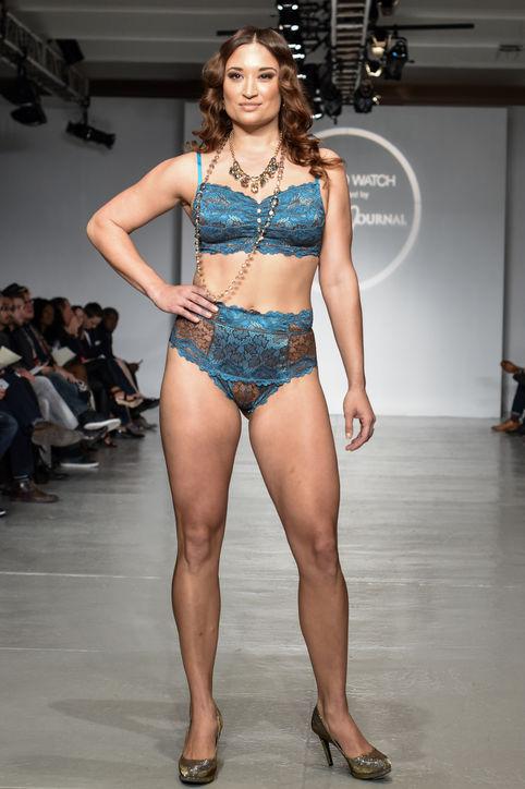 Lingerie Fashion Week Model 2
