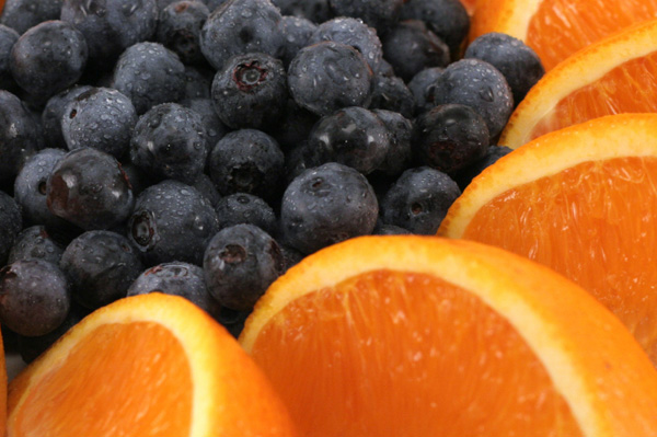 Blueberries and Oranges