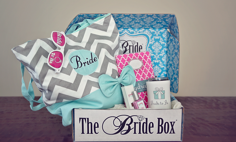 A subscription to The Bride Box