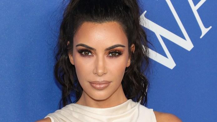 Kim Kardashian Slammed for Straightening North