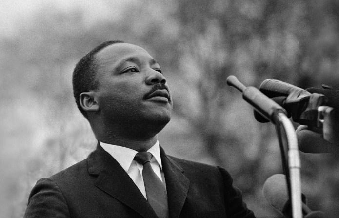 KKK group attacks Dr. Martin Luther