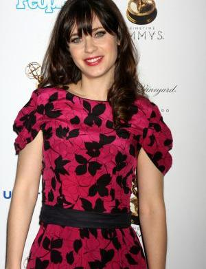 Zooey Deschanel hits it out of