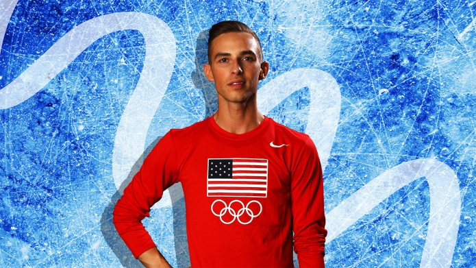 14 Questions With Adam Rippon, the