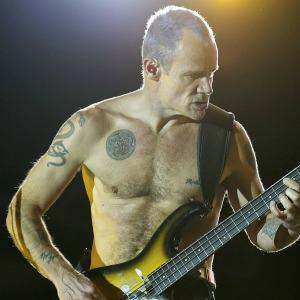 Flea admits he pretty much played
