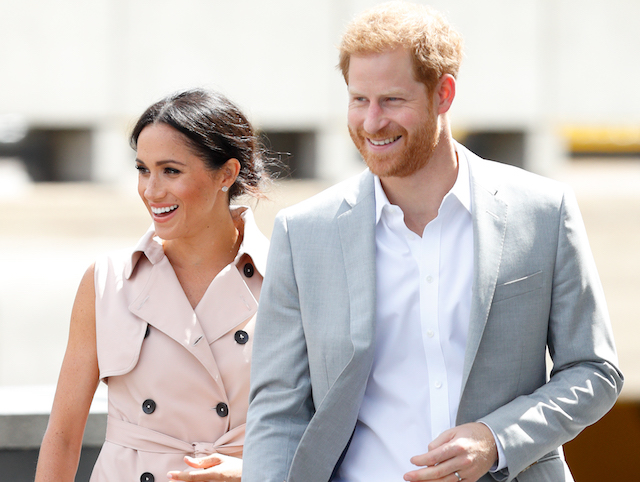 Meghan, Duchess of Sussex and Prince Harry, Duke of Sussex visit The Nelson Mandela Centenary Exhibition at the Southbank Centre