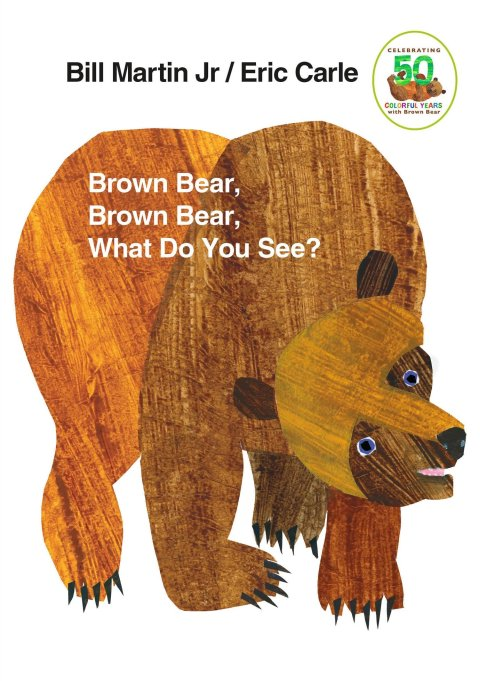 'Brown Bear, Brown Bear, What Do You See?' by Bill Martin Jr.