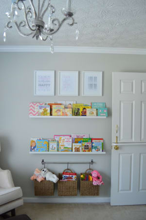 Minimalist nursery decor