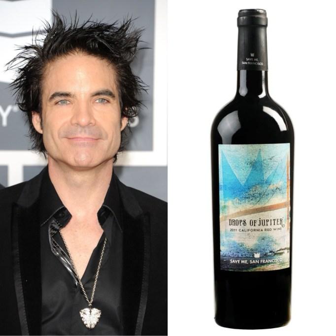 Pat Monahan Train's Drops of Jupiter California Red wine