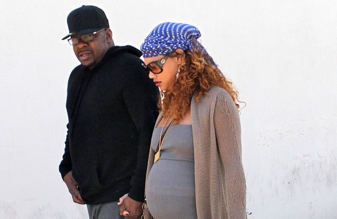 Bobby Brown and Alicia Etheredge have