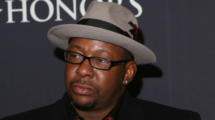 Bobby Brown struggles through Independence Day