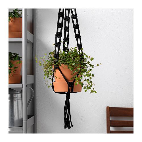 Ikea Sommar 2018 black plant pot hanger