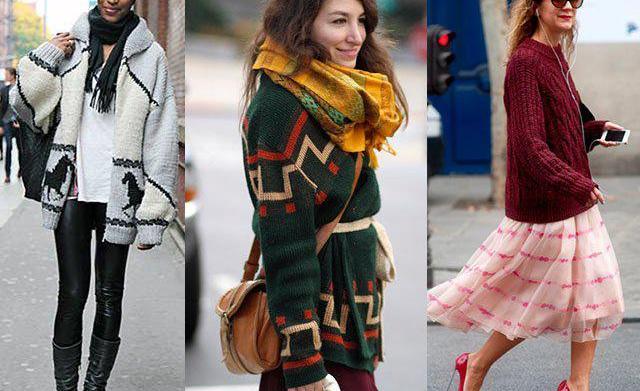 A modern take on Grandma's sweater