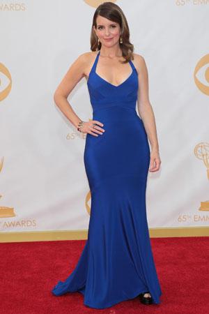 Tina Fey at the 2013 Emmys