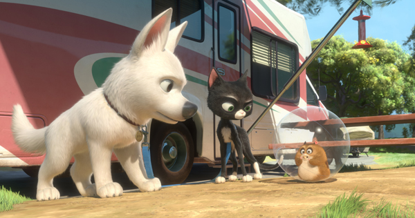 Bolt and the gang ready for action