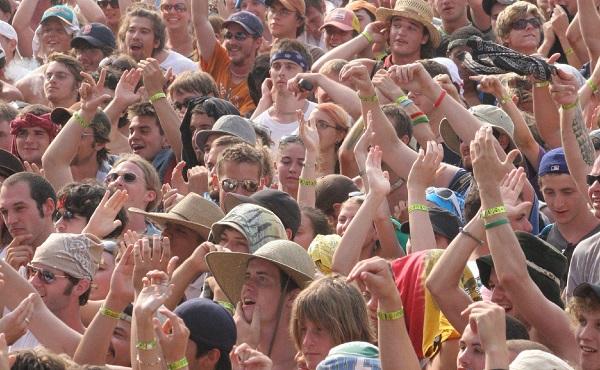 Bonnaroo crowd