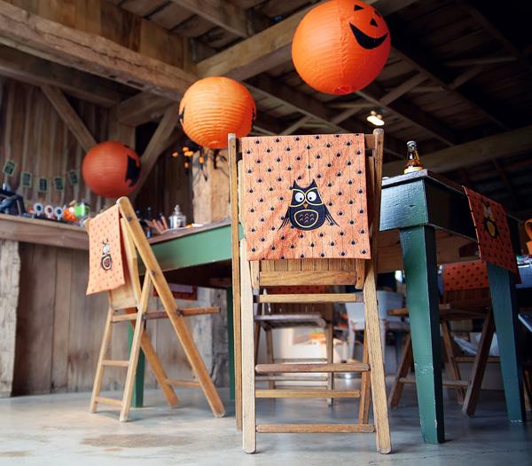 Halloween party -- pumpkin lanterns