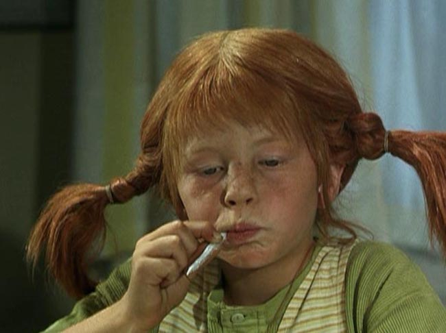 15 kids movies that send a terrible message: Pippi Longstocking