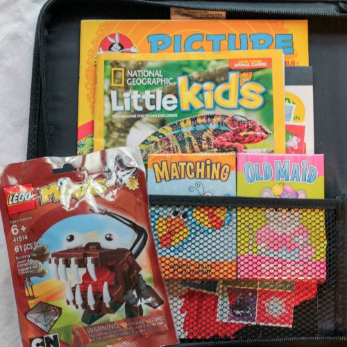 Kids travel kit