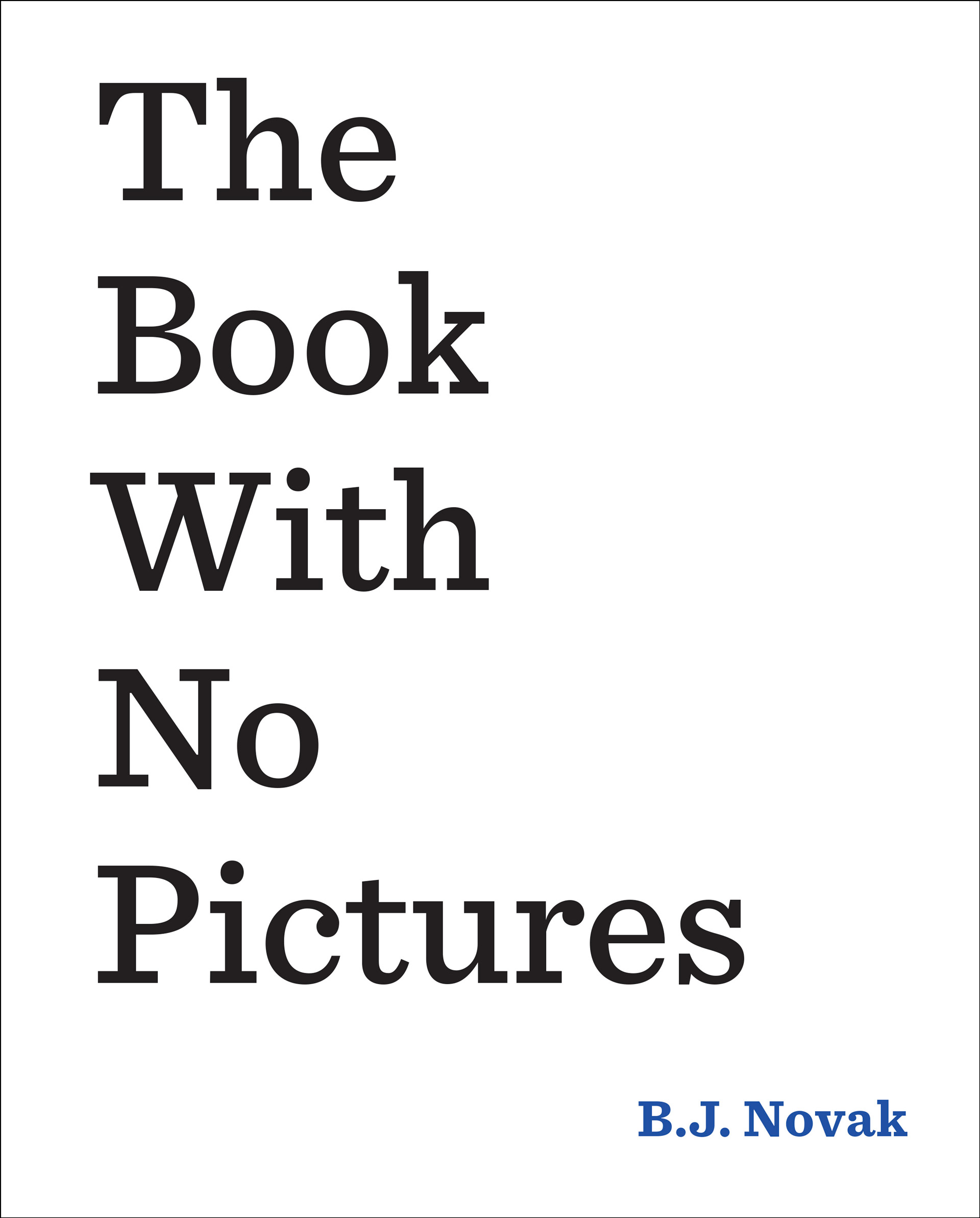 Book with no pictures cover | Sheknows.com